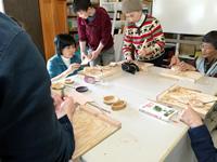 木彫り体験①